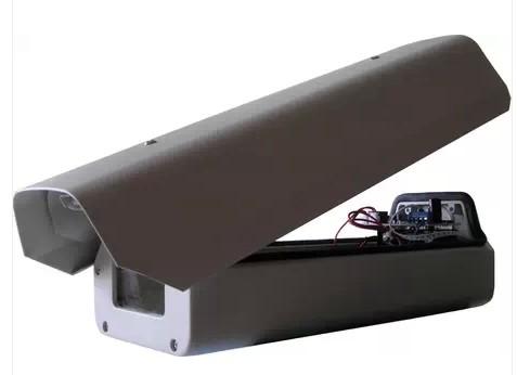 室外后翻式监控摄像机防护罩