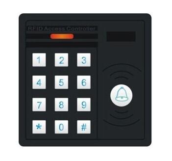 超稳定门禁机 防水门禁一体机 门禁系统 ID/IC 刷卡加密码XT-MJ230