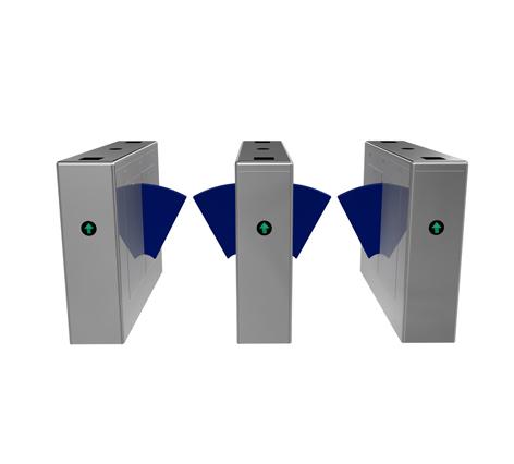 人行通道闸 桥式直角翼闸 翼闸系统 门禁系统